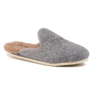 Papuci de casă GANT - Lazy 19598961 Gray Melange G843