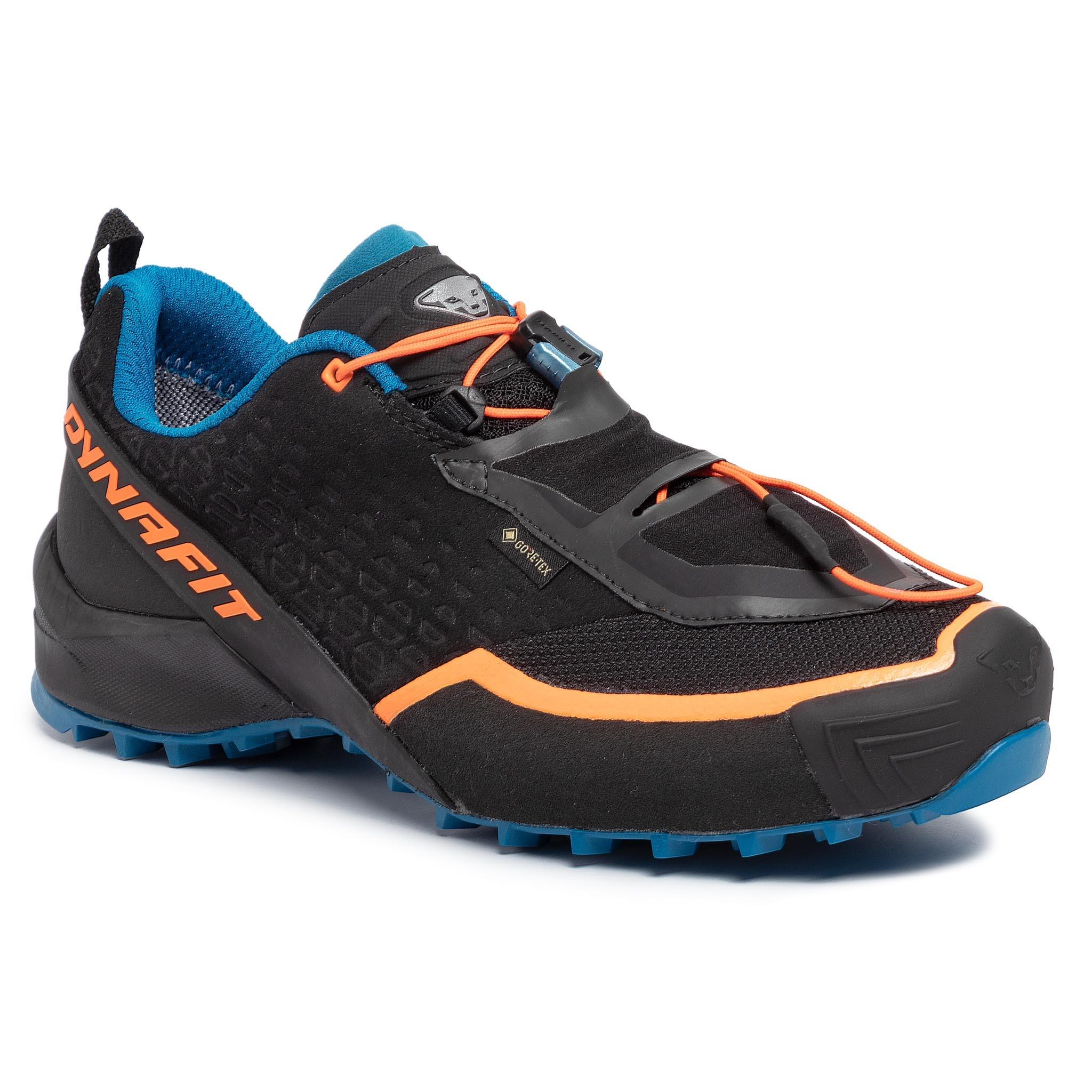 Pantofi DYNAFIT - Speed Mtn Gtx GORE-TEX 64036 Black/Mykonos Blue 0987