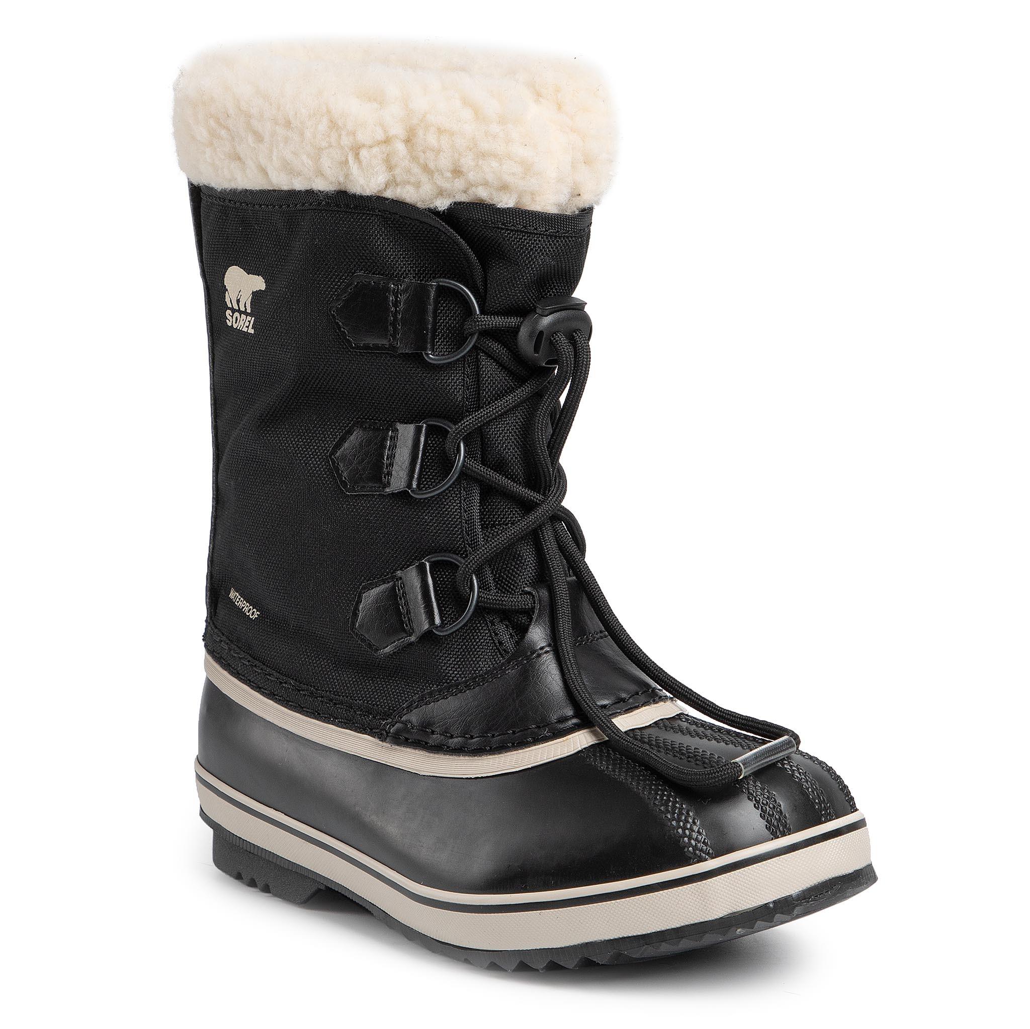 Cizme de zăpadă SOREL - Yoot Pac Nylon NY1962 Black 010