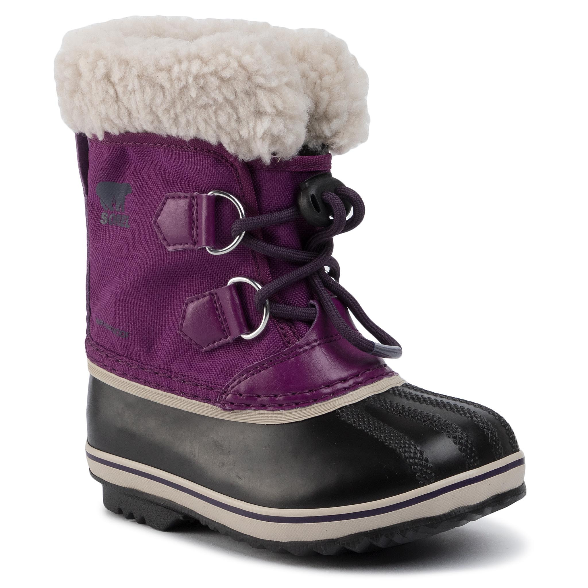 Cizme de zăpadă SOREL - Childrens Yoot Pac Nylon NC1962 Wild Iris/Dark Plum 594