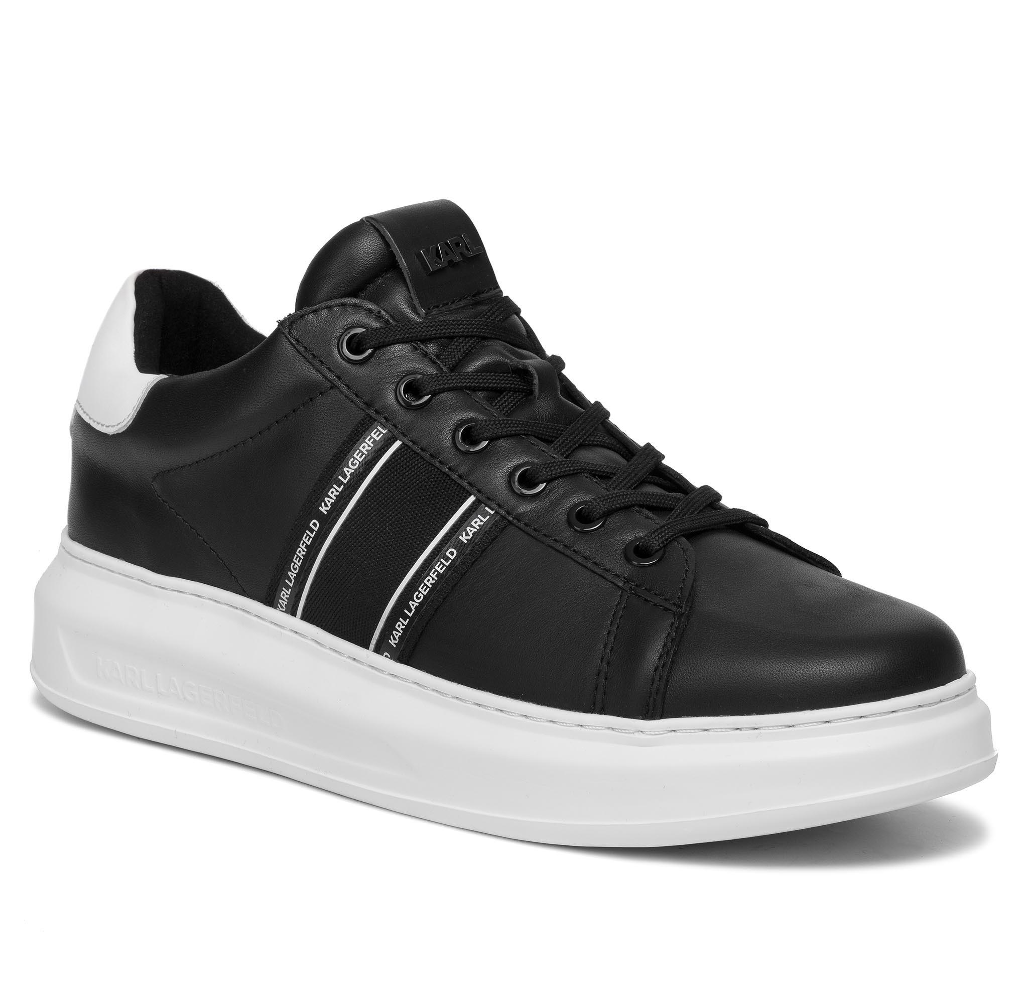Sneakers KARL LAGERFELD - KL52525 Black Lthr