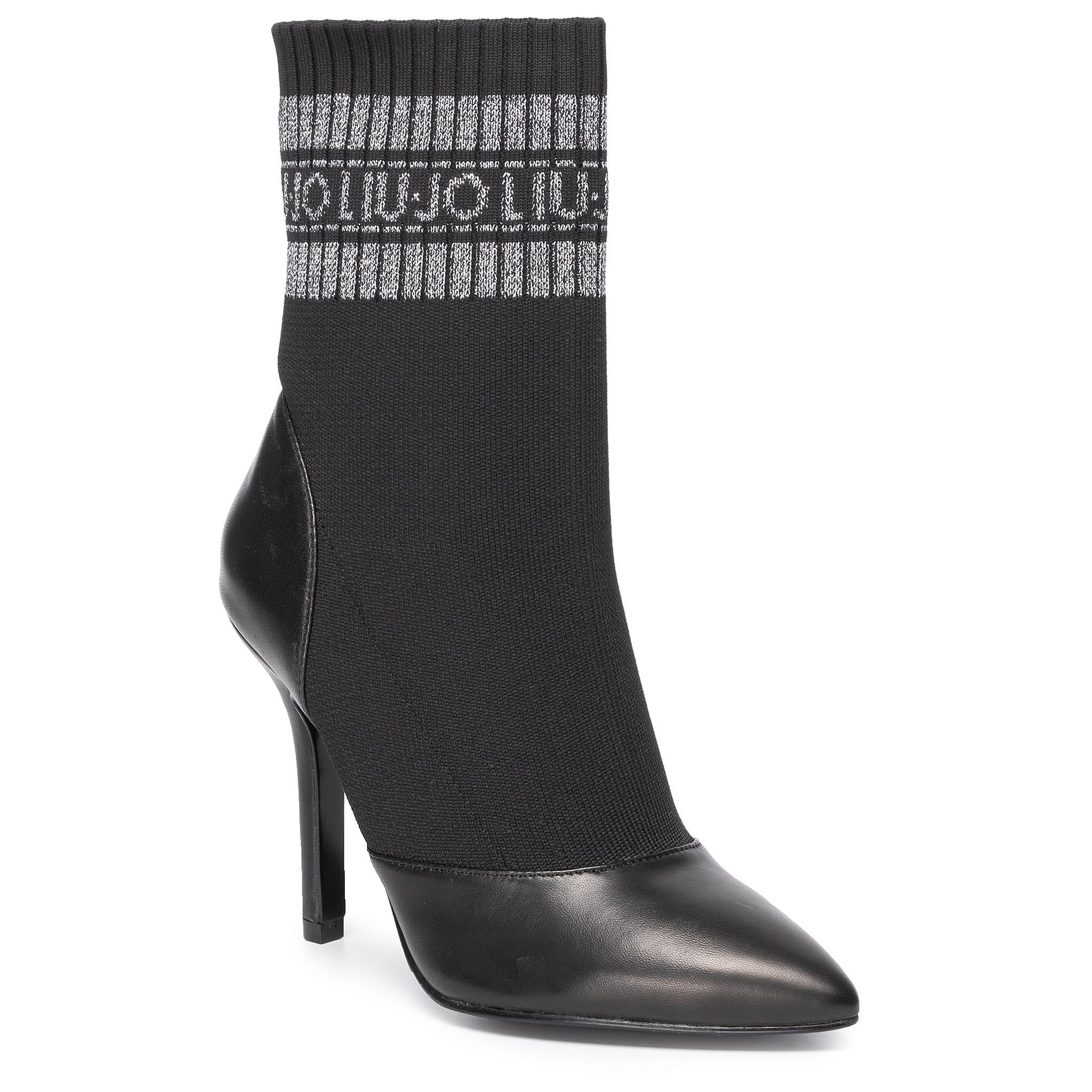 Botine LIU JO - Bea 4 Sock Bootie S69031 TX022 Black 22222