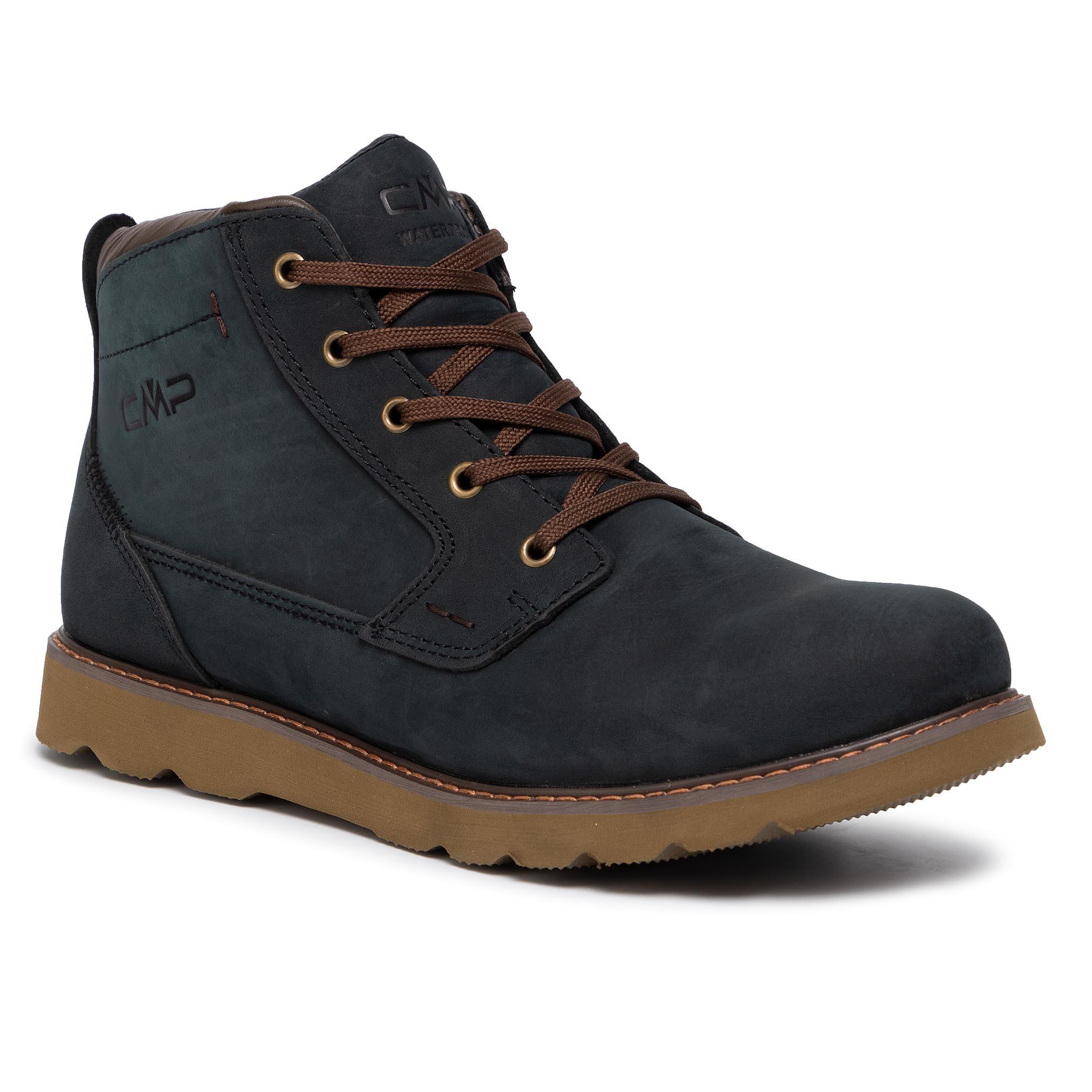 Ghete CMP - Hadir Lifestyle Shoe Wp 38Q4537 Antracite U423