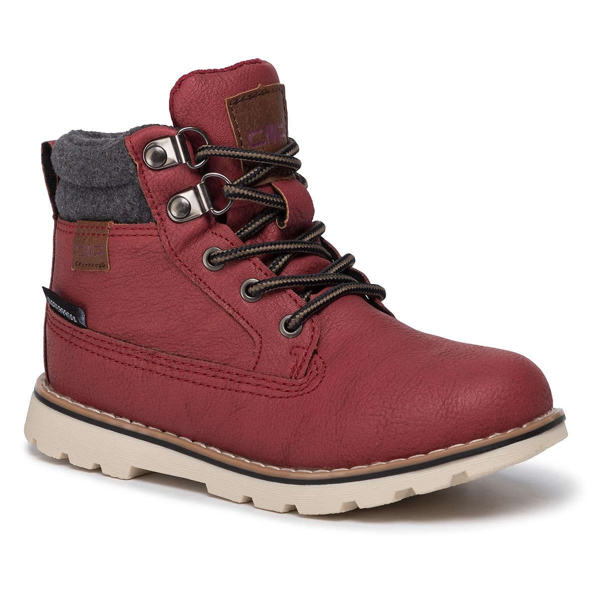 Trappers CMP - Kids Thuban Lifestyle Shoes Wp 39Q4944 Merlot C952