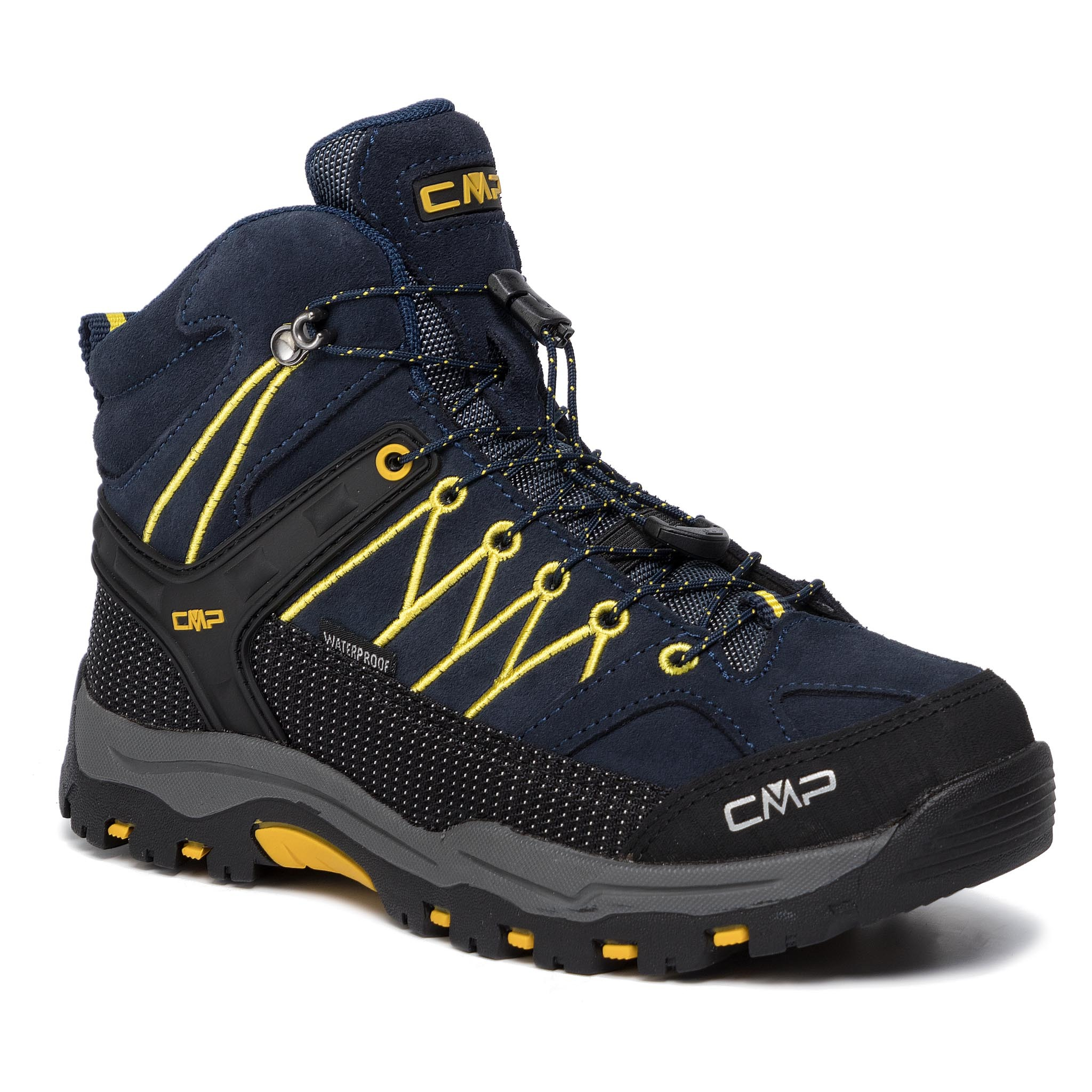 Trekkings CMP - Kids Rigel Mid Trekking Shoes Wp 3Q12944 B.Blue/Zefferano 11ND