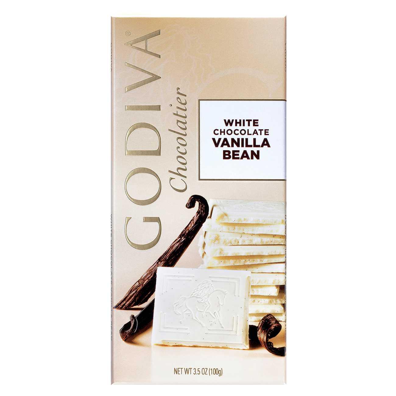 WHITE CHOCOLATE VANILLA BEAN 100 G