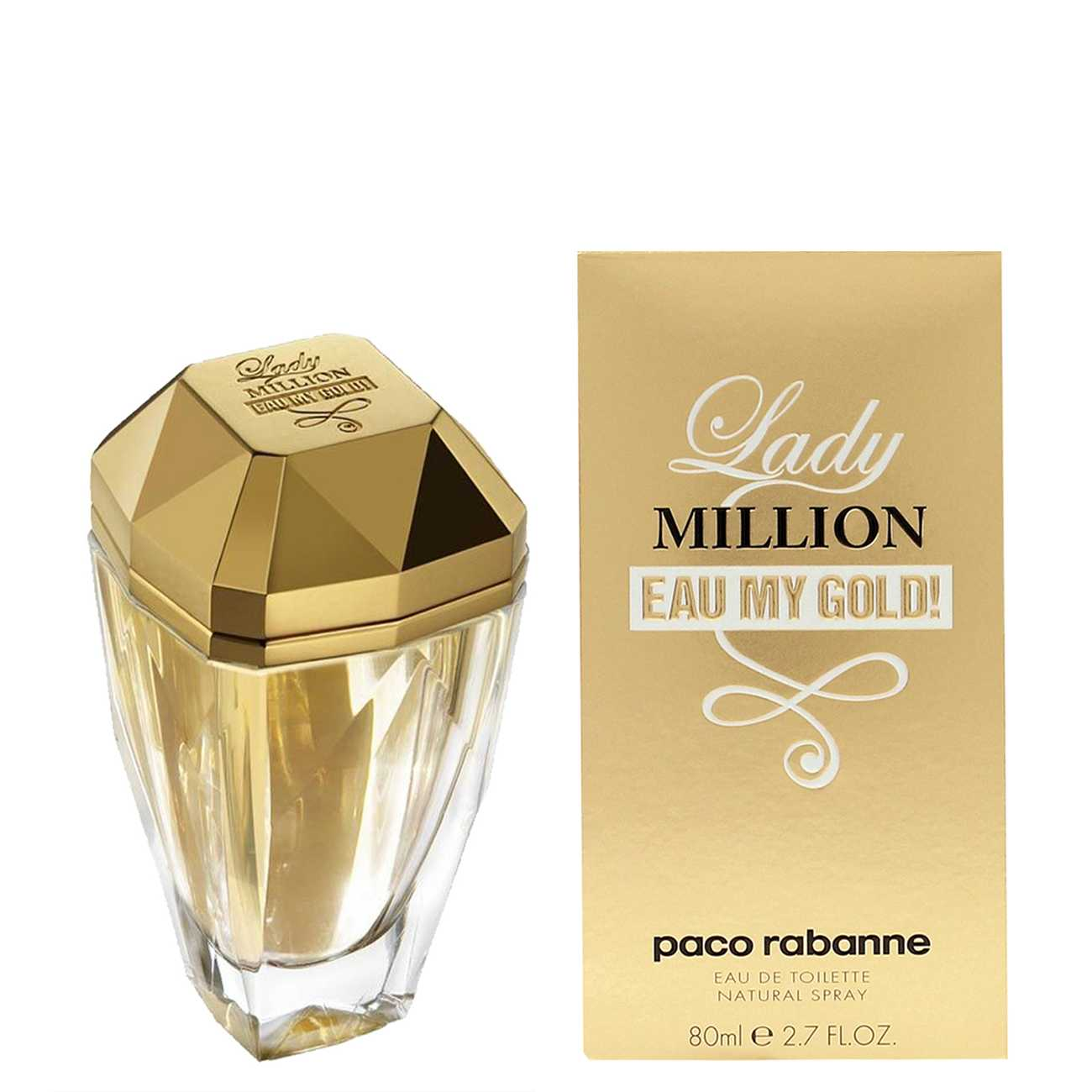 LADY MILLION L'EAU MY GOLD 80ml