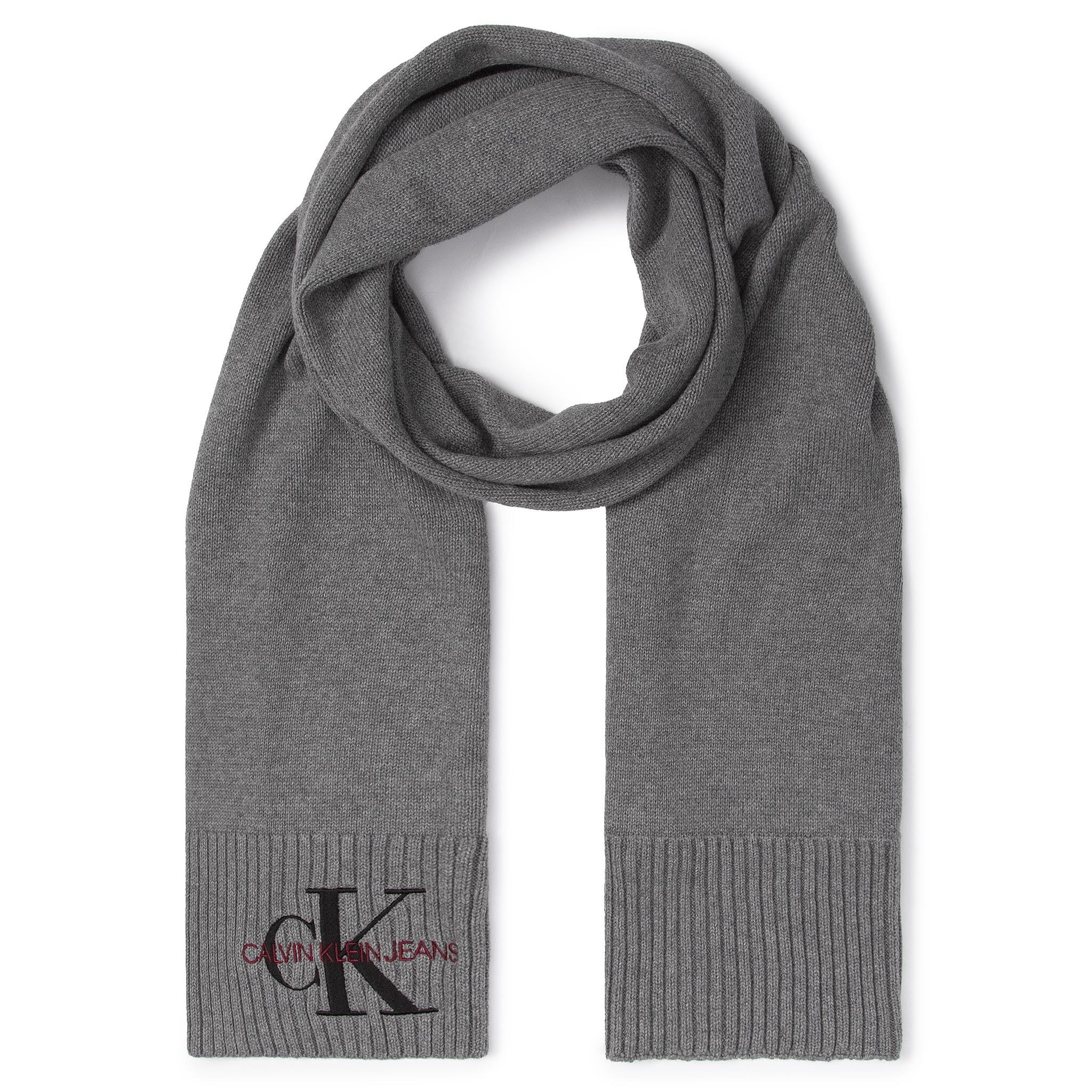 Fular CALVIN KLEIN JEANS - J Basic Women Knitted Scarf K60K605825 P01