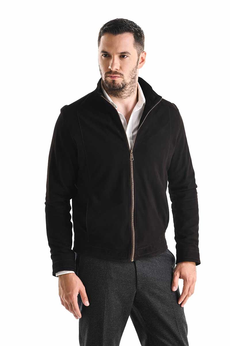 Jachete si geci din piele barbati