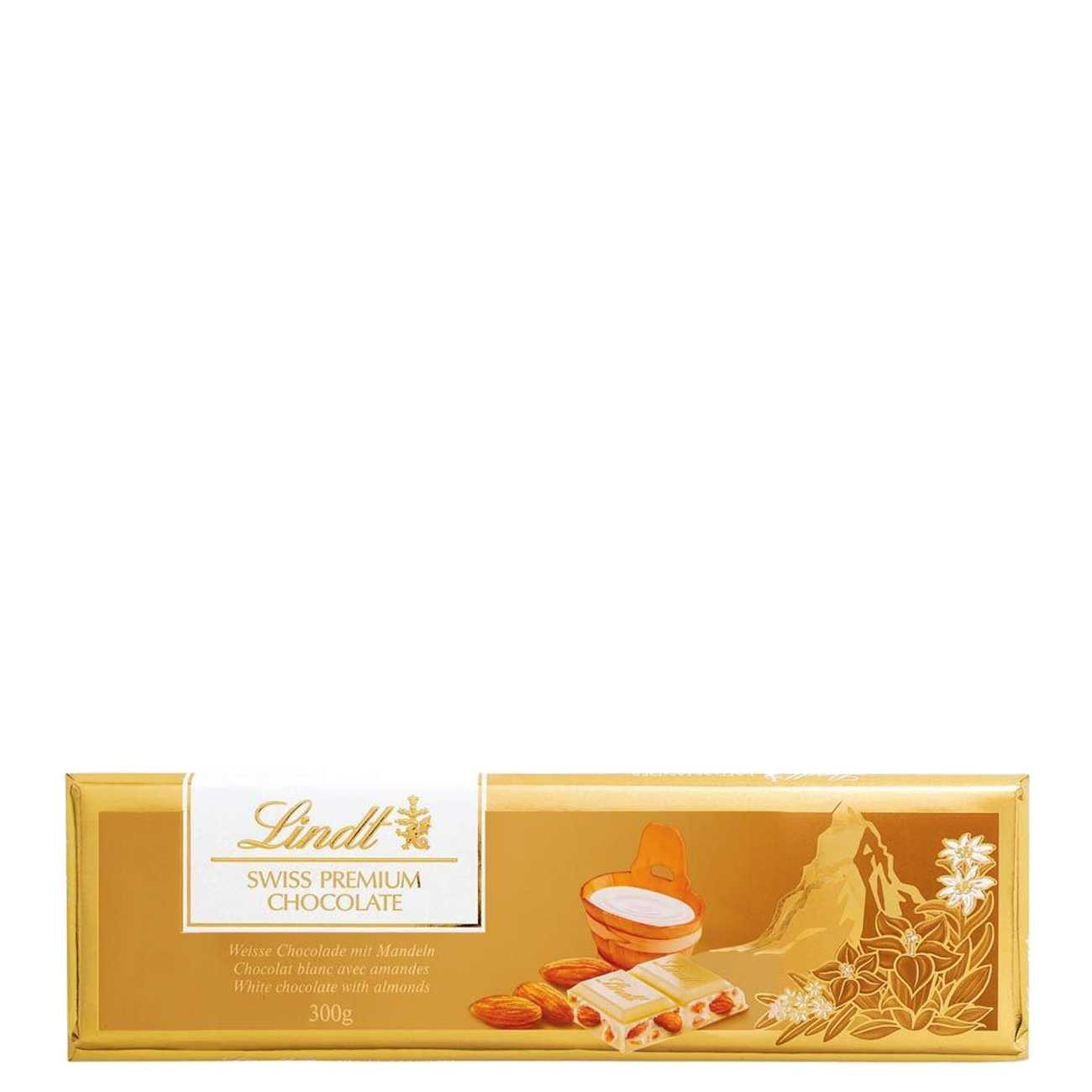 GOLD WHITE CHOCOLATE WITH ALMONDS 300 G