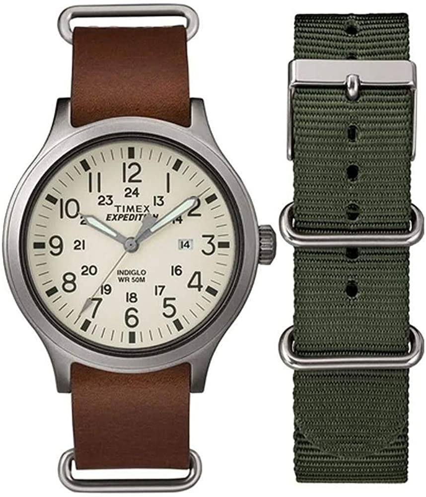 Ceas Barbati, TIMEX EXPEDITION SCOUT Special Pack + Extra Strap TWG016100