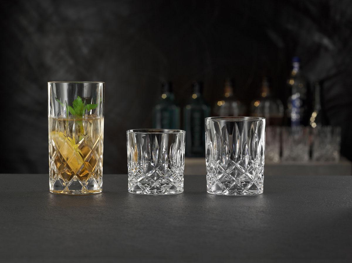 NOBLESSE Set 6 pahare cristalin apa 415 ml