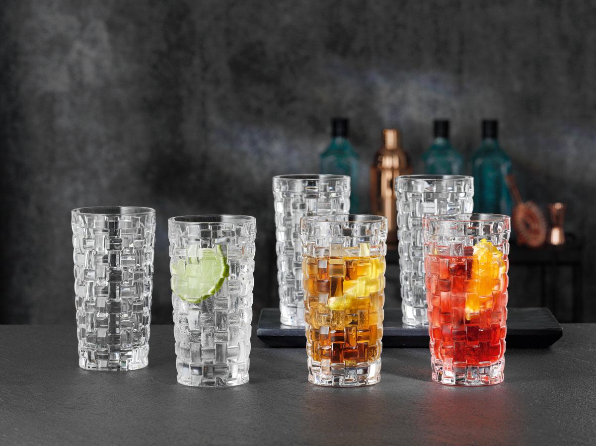 BOSSA NOVA Set 4 pahare cristalin apa 395 ml