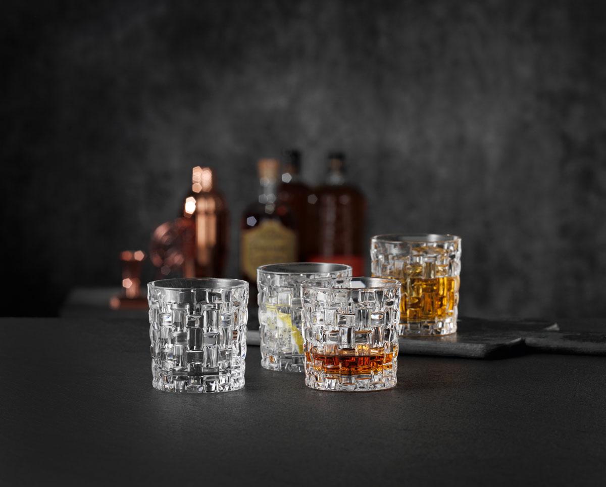 BOSSA NOVA Set 4 pahare cristalin whisky 330 ml