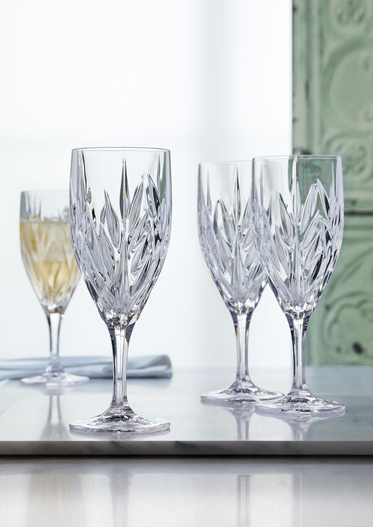 IMPERIAL Set 4 pahare cristalin vin 340 ml