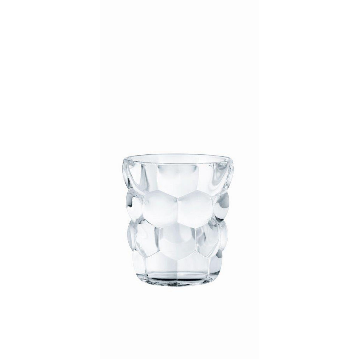 BUBBLES Set 4 pahare cristalin whisky 330 ml