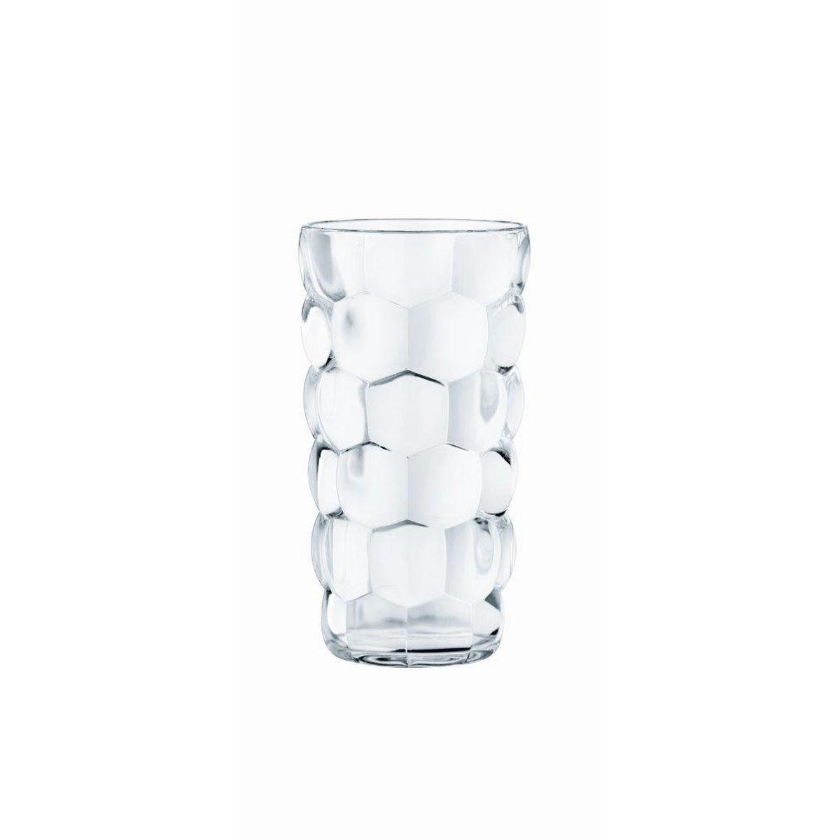 BUBBLES Set 4 pahare cristalin apa 390 ml