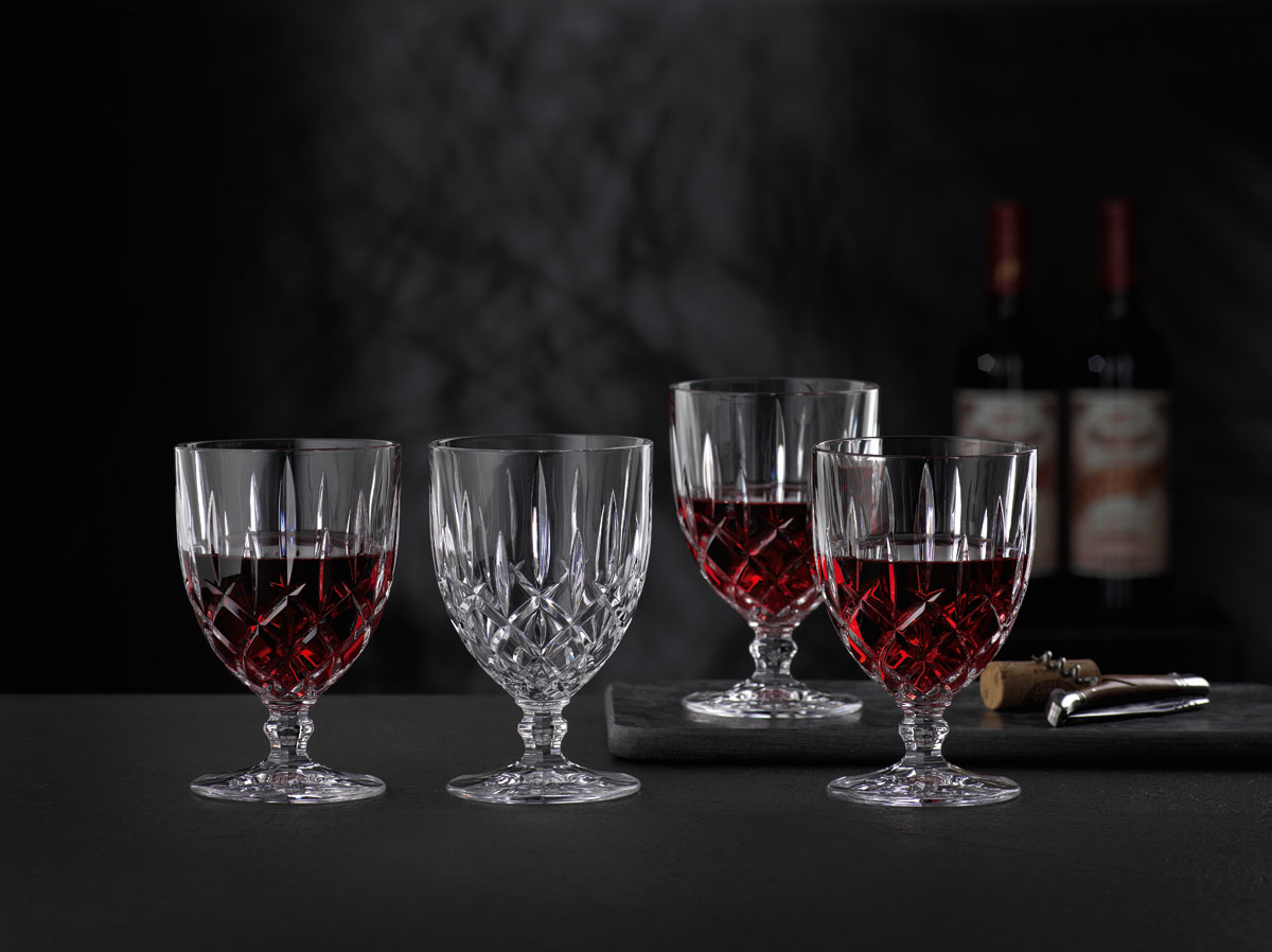 NOBLESSE Set 4 pahare cristalin vin 350 ml