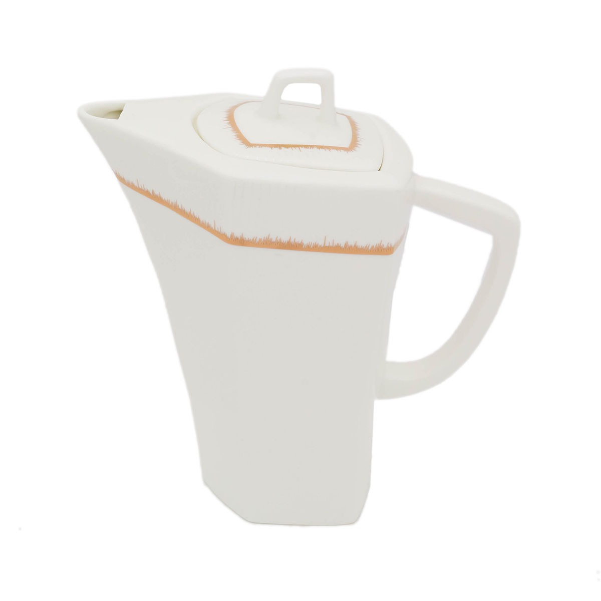 HELIOS Cafetiera cu capac portelan 1200 ml