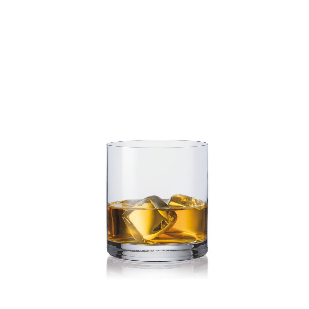 BAR LINE Set 6 pahare cristalin whisky 410 ml