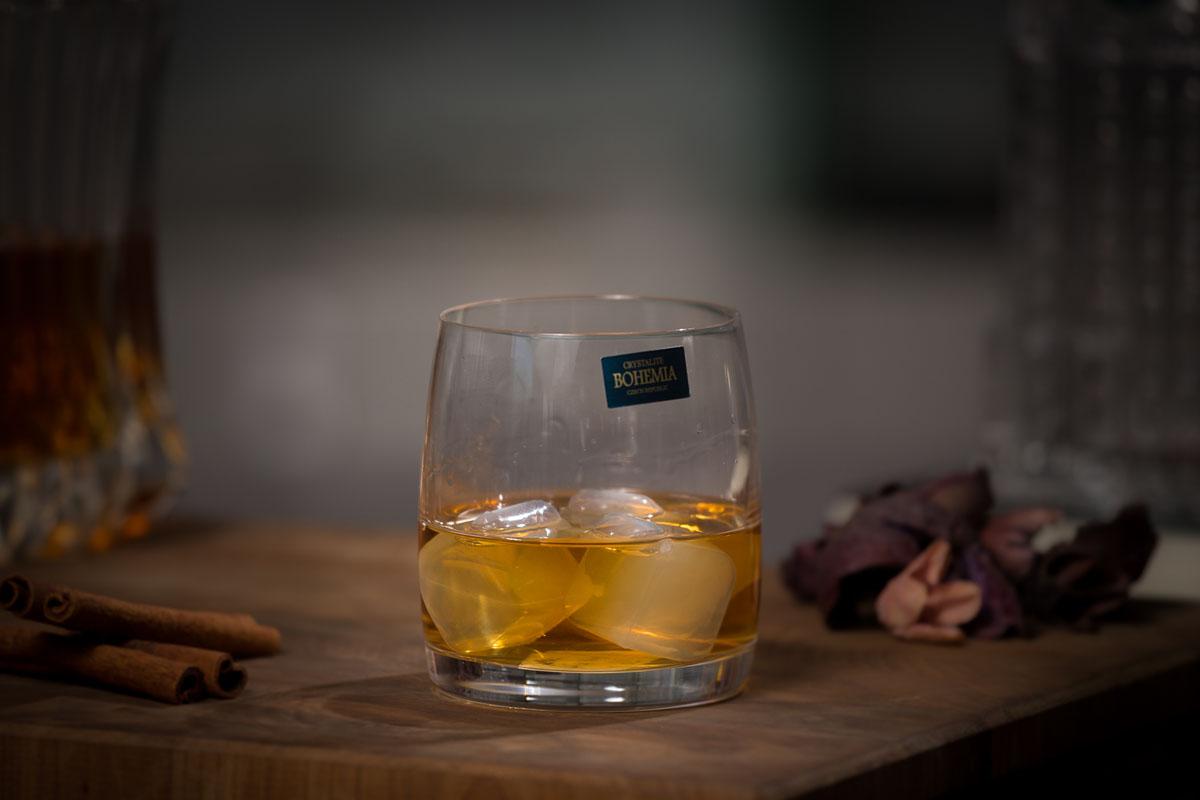 PAVO Set 6 pahare cristalin whisky 290 ml