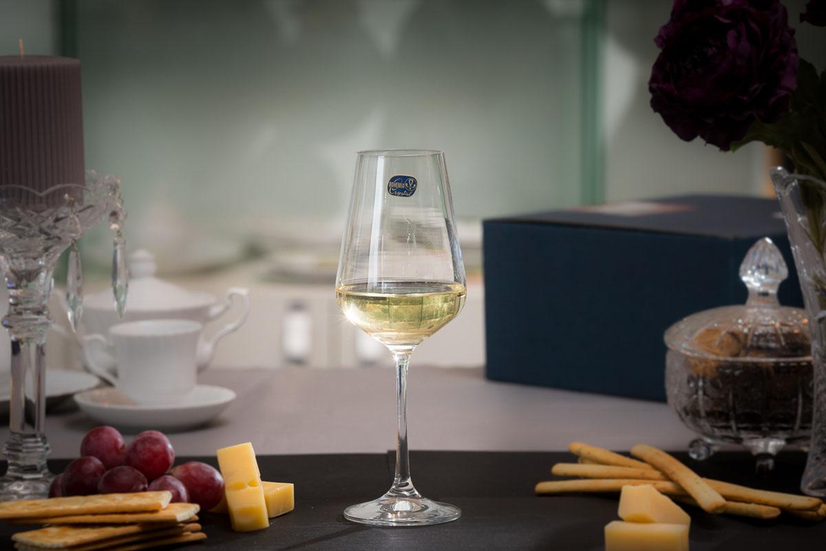 SANDRA Set 6 pahare cristalin vin 250 ml