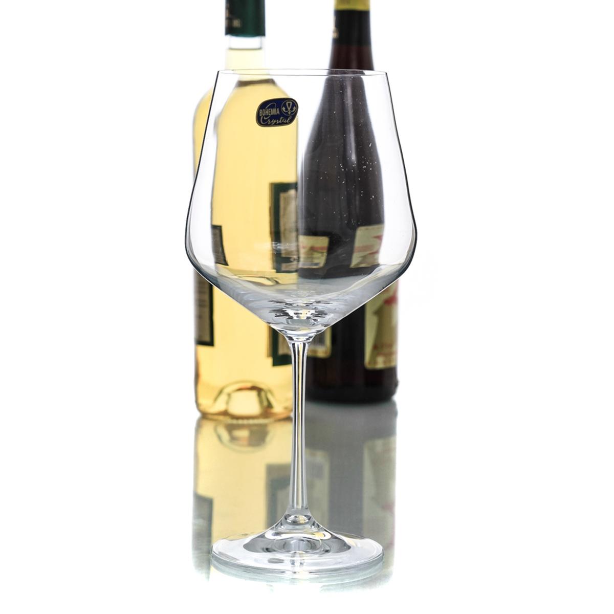 SANDRA Set 6 pahare cristalin burgundy 570 ml