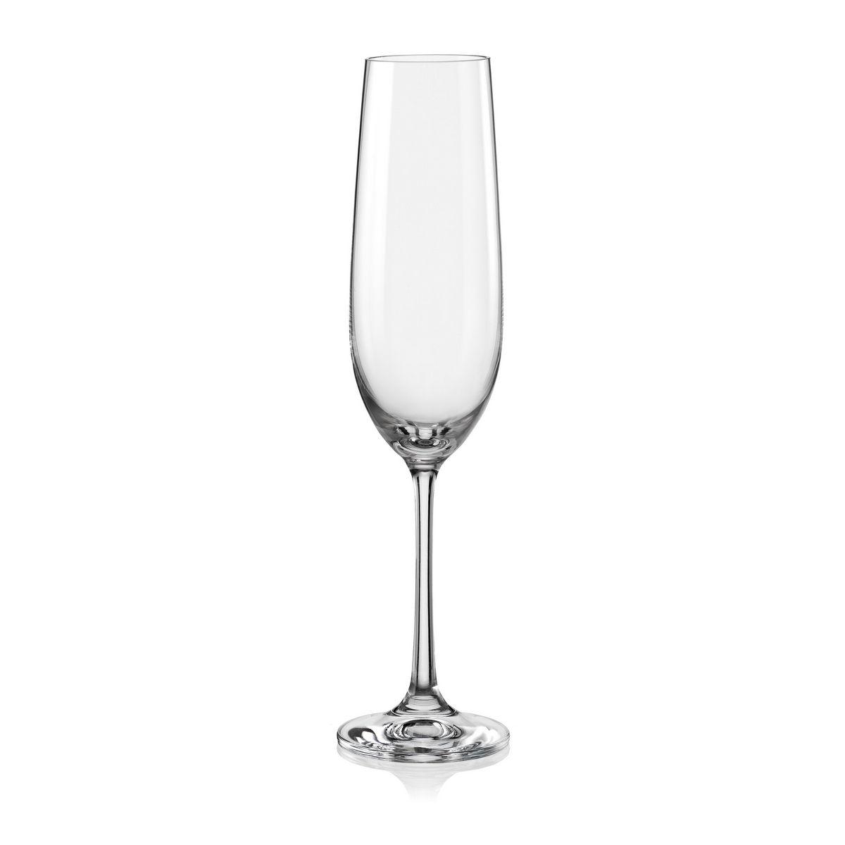 BAR Set 4 pahare cristalin sampanie 190 ml