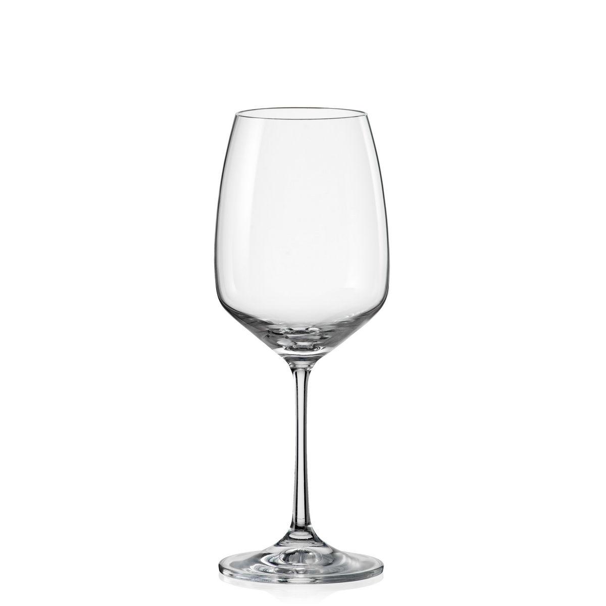 GISELLE Set 6 pahare cristalin vin 455 ml