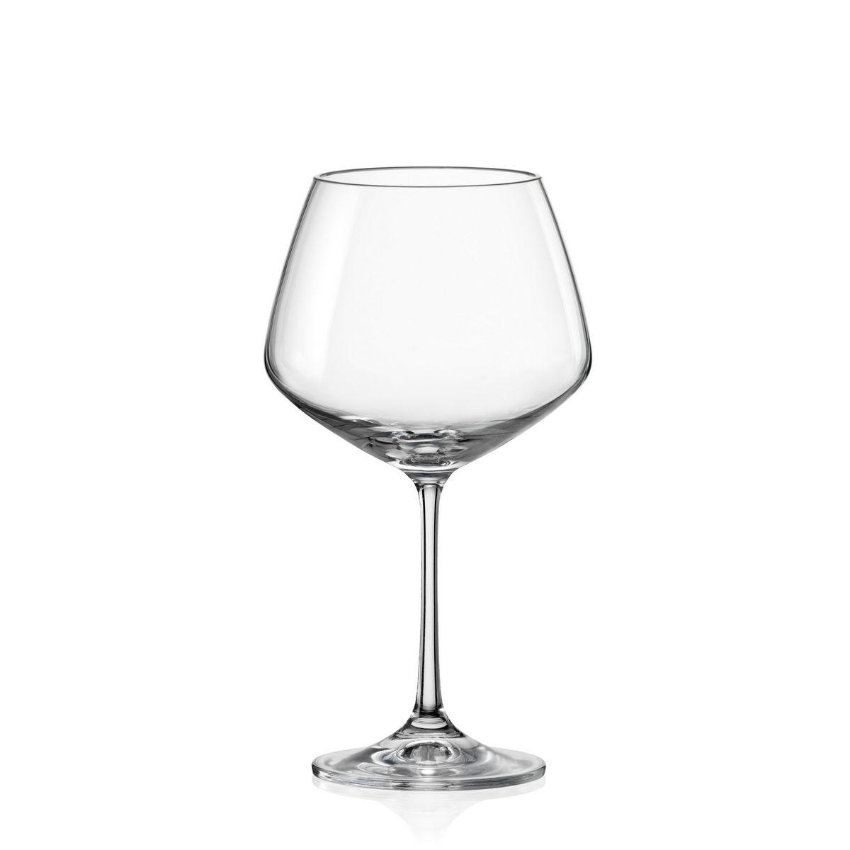GISELLE Set 6 pahare cristalin vin 580 ml