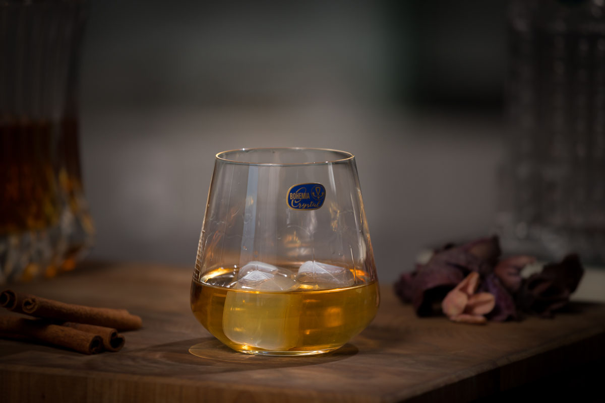 SANDRA Set 6 pahare cristalin whisky 290 ml