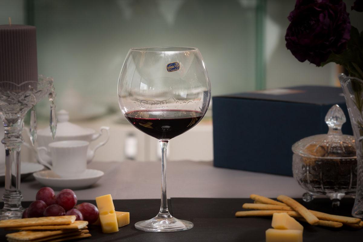 GRANDIOSO Set 2 pahare cristalin vin 710 ml