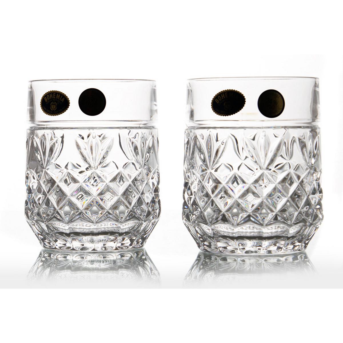 ADIDAS Set 6 pahare cristal Bohemia whisky 240 ml