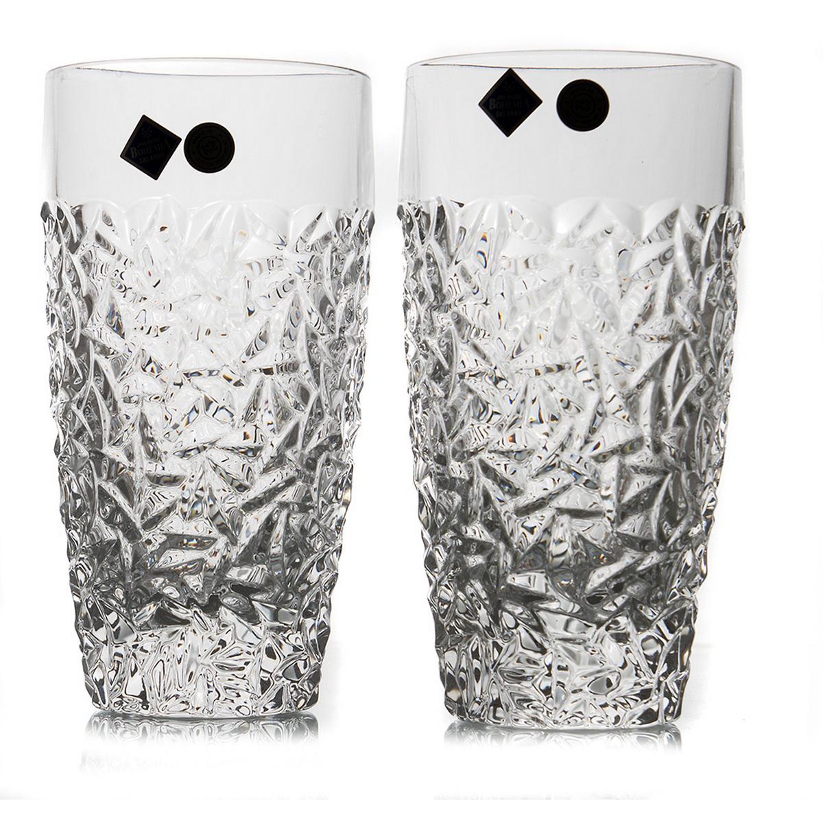 NICOLETTE Set 6 pahare cristal Bohemia apa/suc 430 ml
