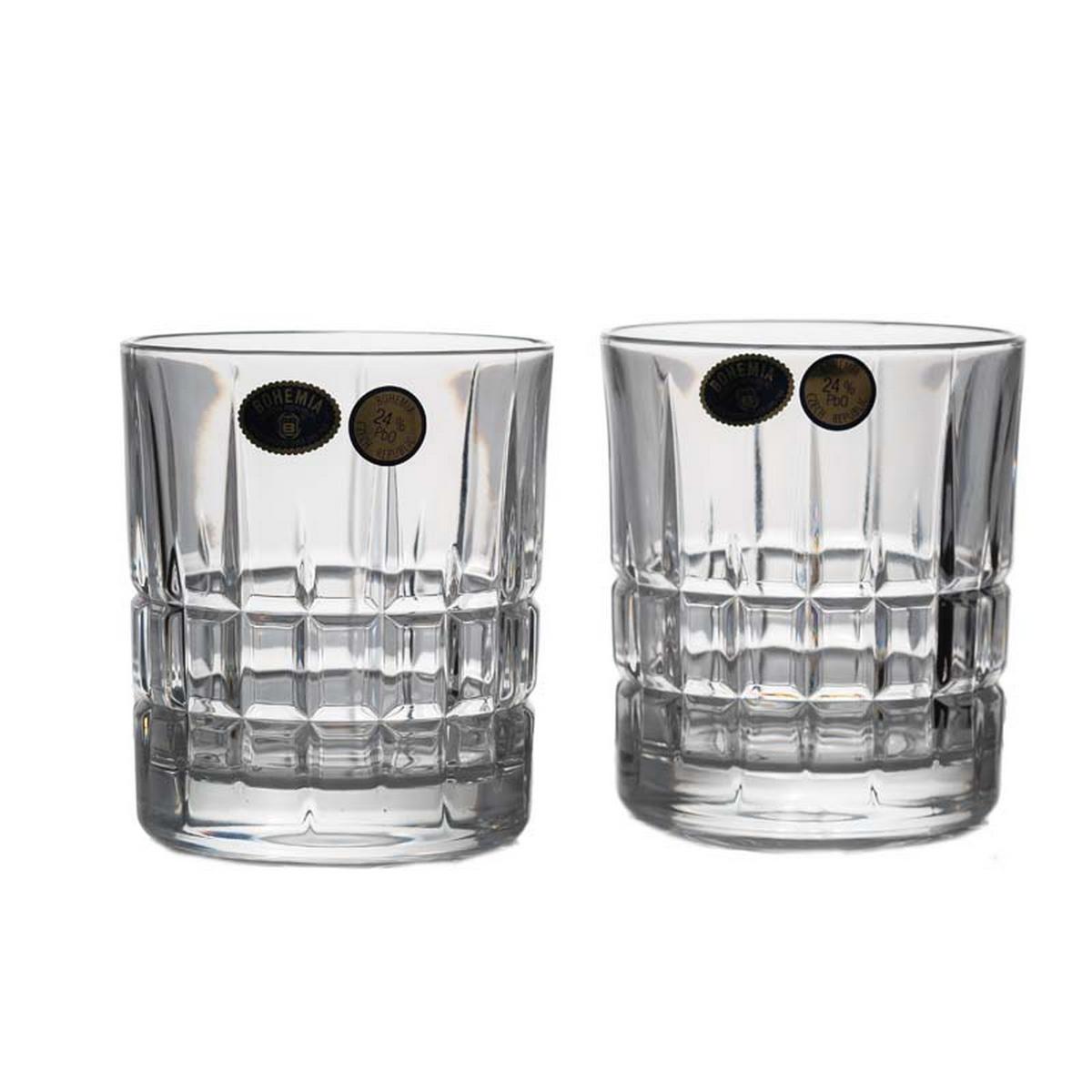 LONDON Set 6 pahare cristal Bohemia whisky 320 ml