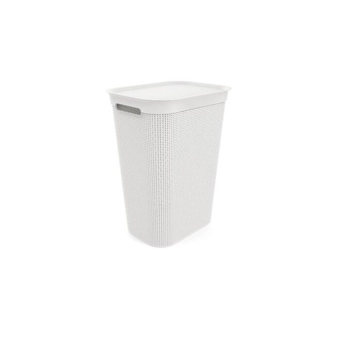 Cos de rufe, plastic, alb, 52,9 x 43,1 x 34 cm
