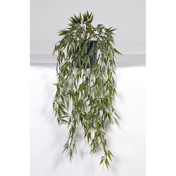 Planta artificiala, plastic, verde, 80 x 35 x 35 cm