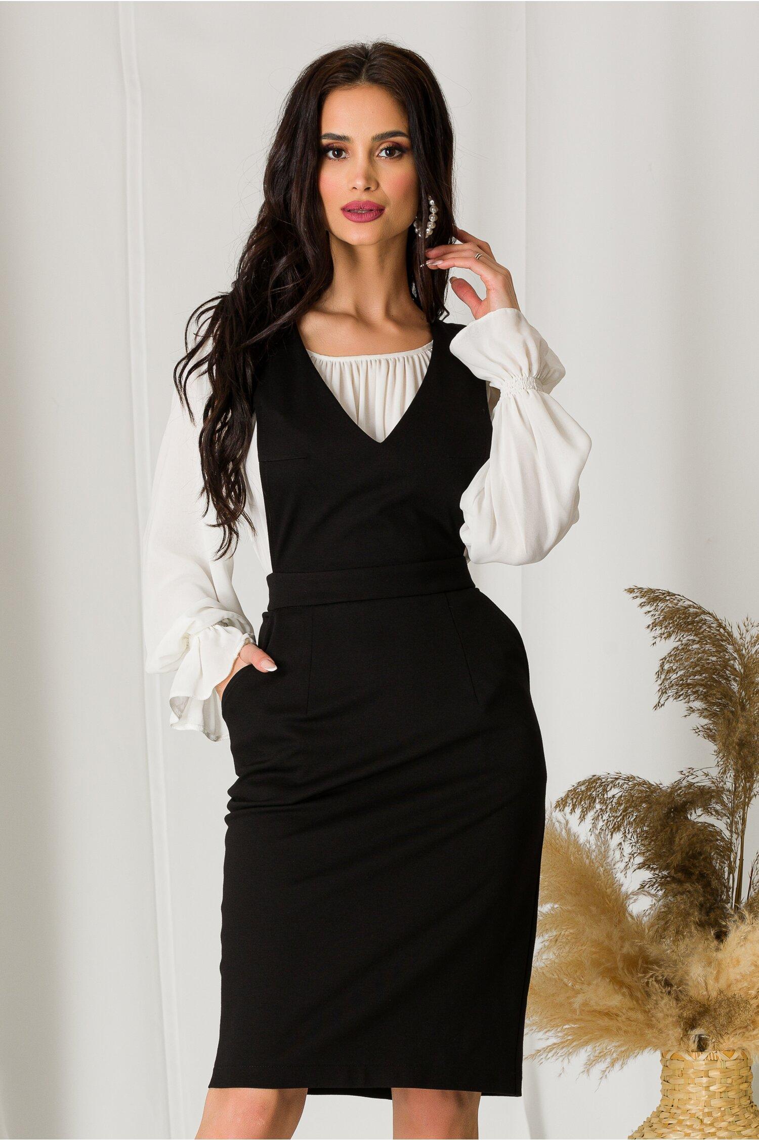 Sarafan Ella Collection Selina negru